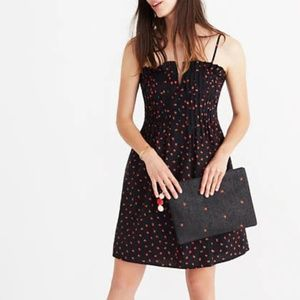 Madewell Strawberry Print Mini Dres